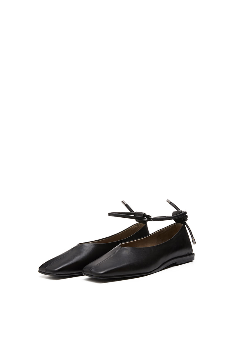SIMPLE FLAT LOAFER [C9F01BK]