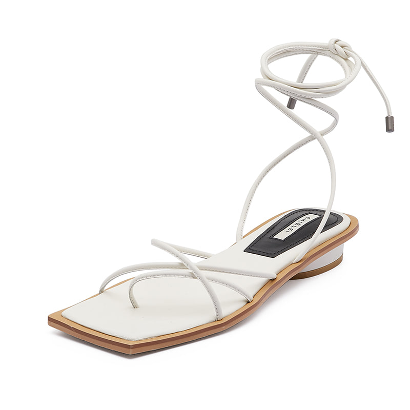 DOUBLE CROSS SANDAL [C0S02 WT]