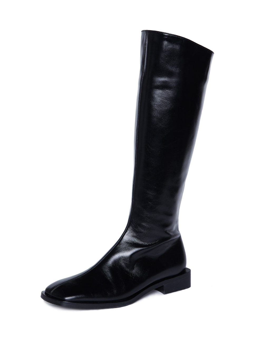 #1 Square Long boots [BK]