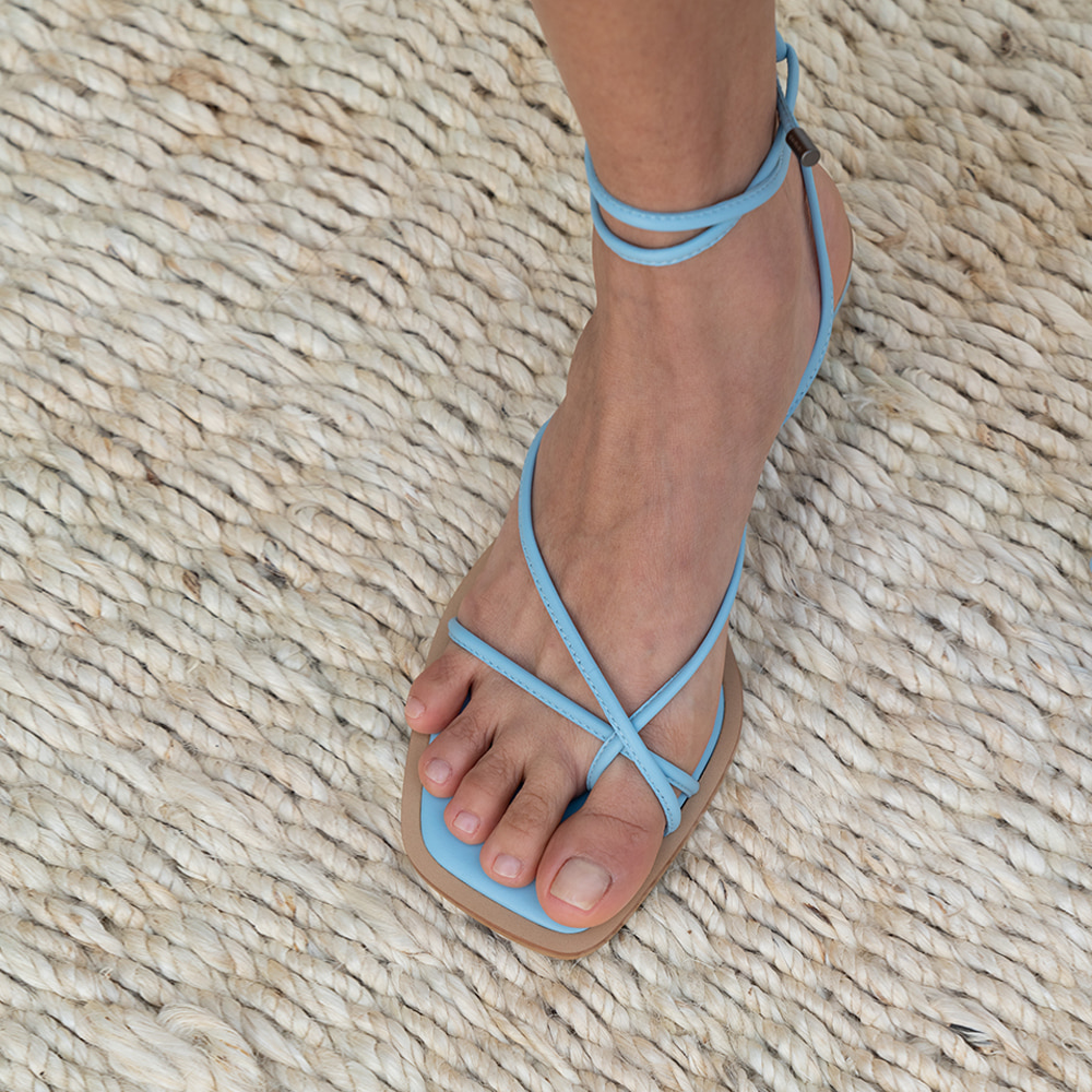 NEW ROPE SANDAL [C0S01 BL]