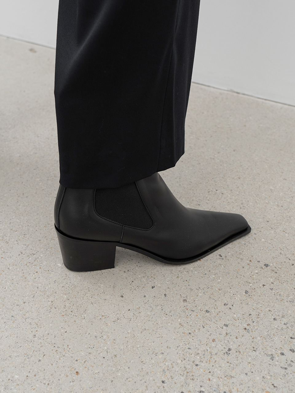 WESTERN CHELSEA BOOTS[C0F10 BK]