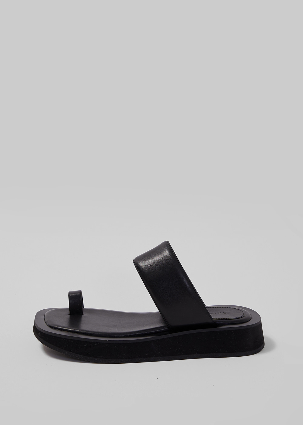 DOUBLE BAND SANDAL [C1S04 BK]